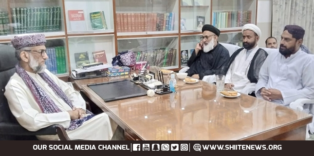MWM delegation meets Abul Khair Zubair for sectarian harmony in Hyderabad