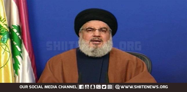 US, Israel fazed by Iran's fuel aid shipments to Lebanon: Nasrallah
