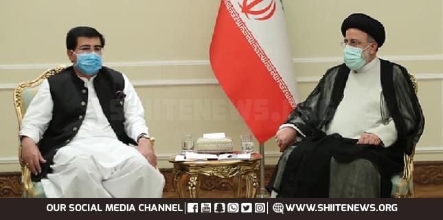 Iranian President Raisi opens 6 more routes to Pakistan, Sanjrani