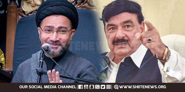 Sheikh Rasheed becomes fan of Allama Shahenshah Naqvi