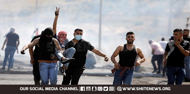 Israeli forces attack Palestinian protesters in West Bank