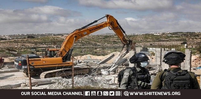 UN says Israel razed, seized 31 Palestinian-owned structures in West Bank