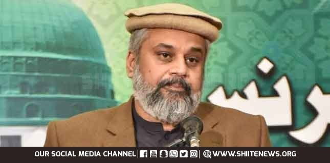 Sahibzada Hamid Raza demands combat operation against ISIS in Pakistan