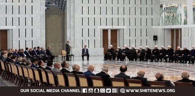 Assad: Syria will stand by Lebanese people, support them on all levels