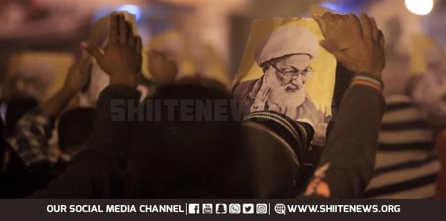 Bahrainis rally in support of prominent Shia cleric Sheikh Qassim