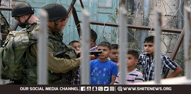 Israeli military forces arrested some 1,000 Palestinian minors since January: NGO