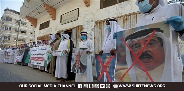 Manama regime's normalization with Israel 'a crime', not in line with public will: Bahrain opposition