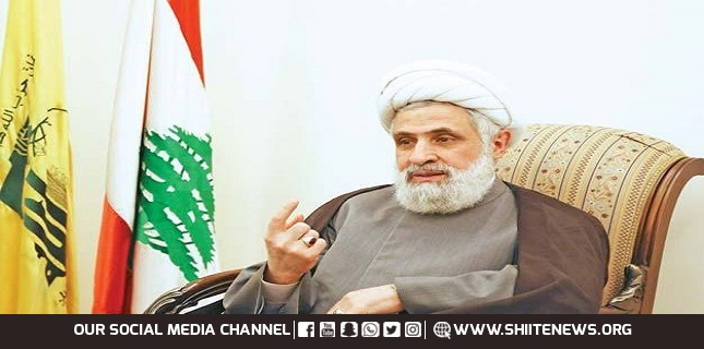 Our weapons are locked and loaded: Sheikh Naim Qassem