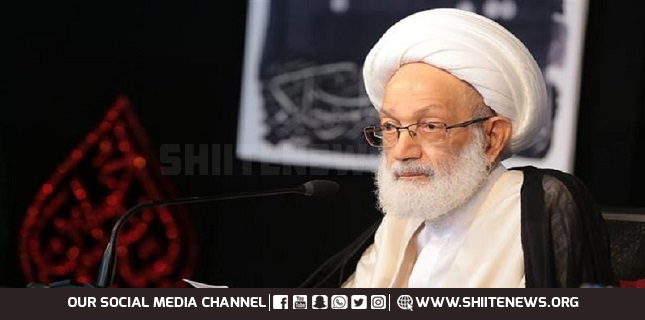 Sheikh Qassim calls for free referendum in Bahrain to assess opposition's weight