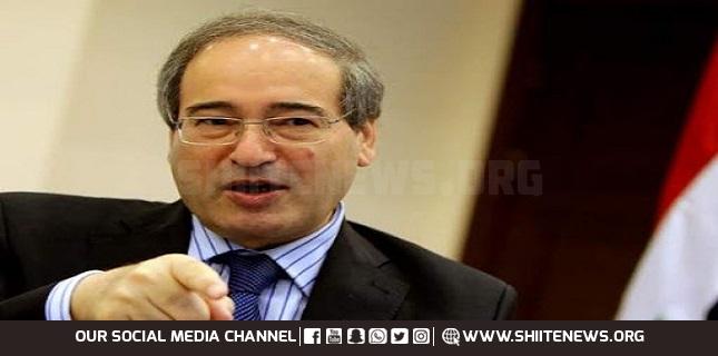 Syrian Foreign and Expatriates Minister Faisal Mikdad