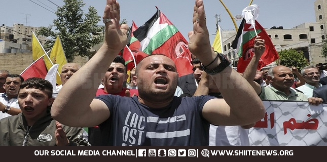 Weekly Palestinian protests continue in West Bank