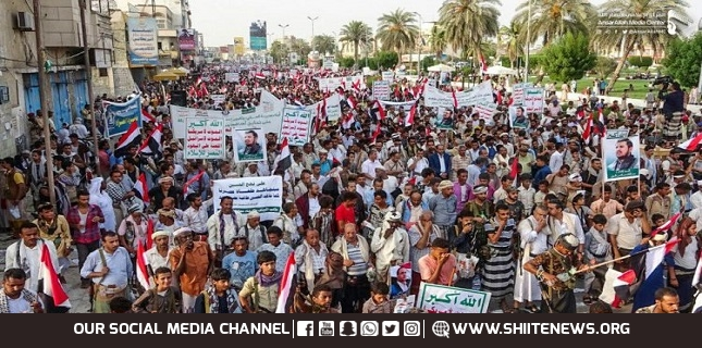 Yemenis rally on Sept. 21 revolution anniversary, condemn foreign aggression