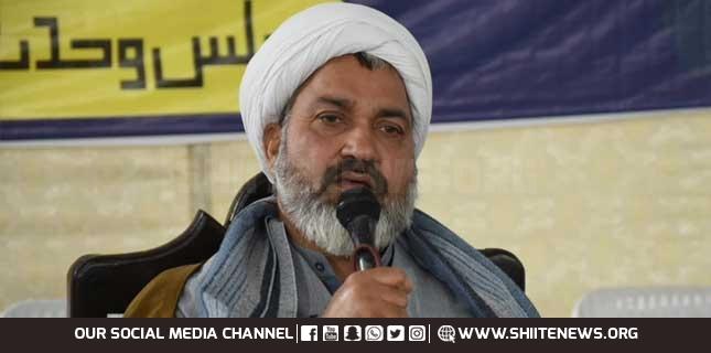 Real perpetrator of blasphemy is chief of Takfiri group, Allama Abdul Khaliq Asadi
