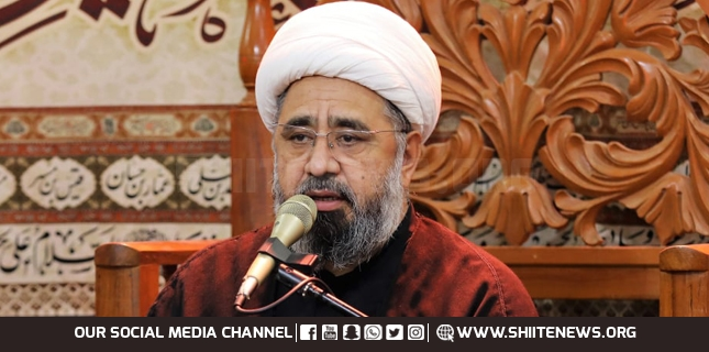 Merchants of dignity of Holy Companions and Holy Mother can find blasphemy in Bukhari Shareef, Allama Amin Shaheedi