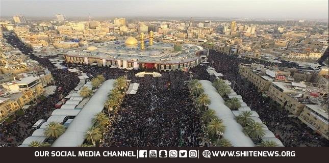 Millions of Muslim Pilgrims Flocking into Holy City of Karbala to Mark Arbaen