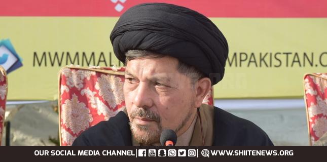 We deem any hurdle for Azadari blasphemy to Shia religion, Allama Baqir Zaidi