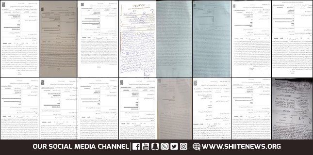 The cities, where police registered cases against Azadaran, Shiite News Report