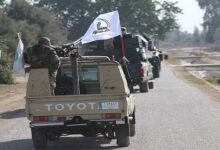 PMU convoy attacked near Iraq-Syria border; US denies involvement
