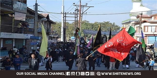 Kashmir observe Arbaeen