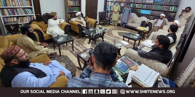 Ameer Ahle Hadith met Raja Nasir Abbas to thwart riot conspiracy in Pakistan