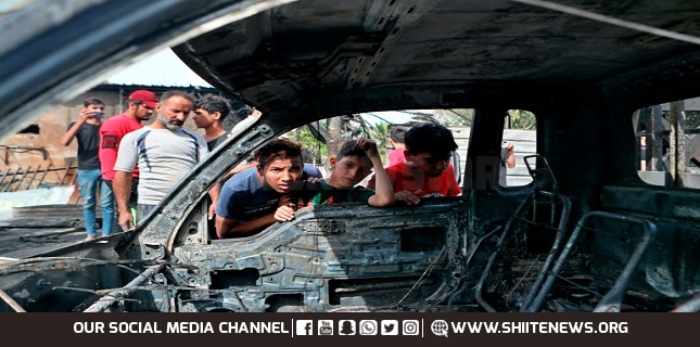 A car bomb blast hits eastern Iraq