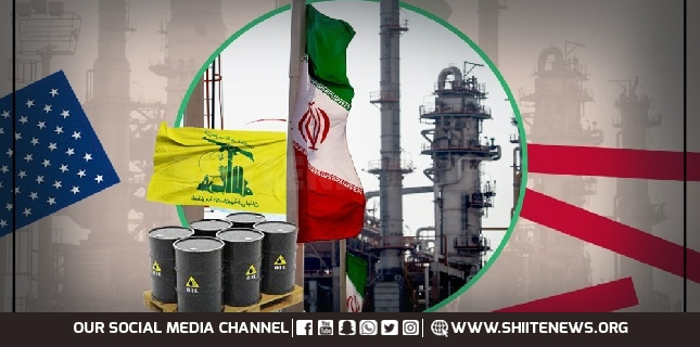 Iranian fuel delivery to Lebanon disrupts US hegemony in Western Asia