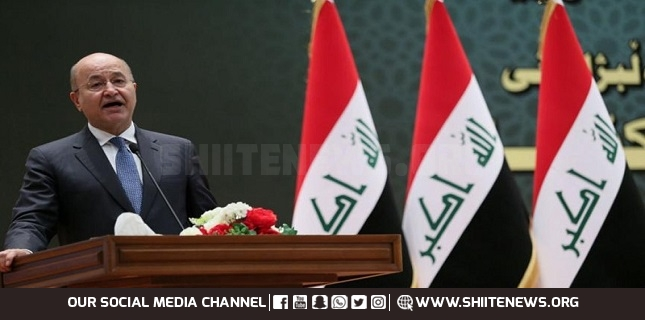 Iraq committed to defend Palestinian cause: Iraqi President