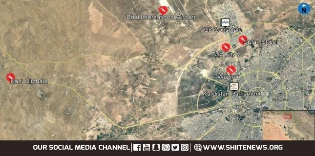 Israeli bases in Iraq's Kurdistan