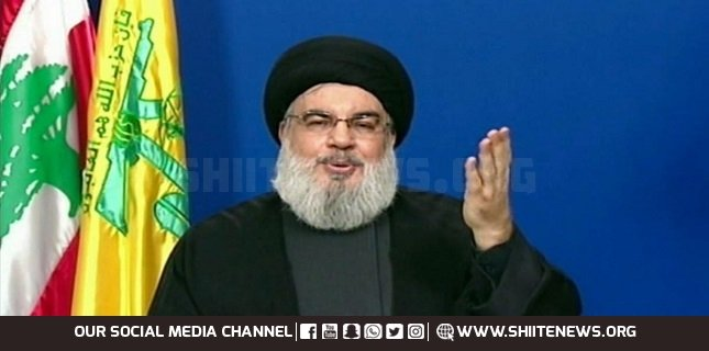 Nasrallah says Lebanon set to receive more fuel shipments from Iran