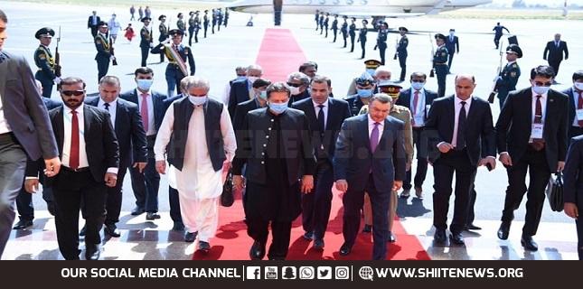PM Imran reaches Tajikistan on two-day visit to attend SCO summit