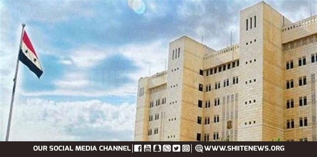 Syria condemns Israeli attacks on territory