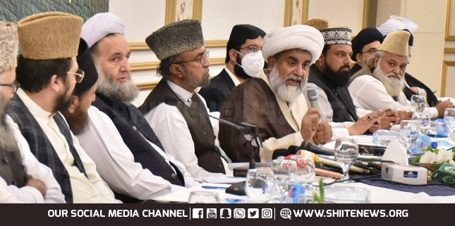 Combating any dominance over the Islamic unity is a Quranic strategy, Allama Raja Nasir Abbas