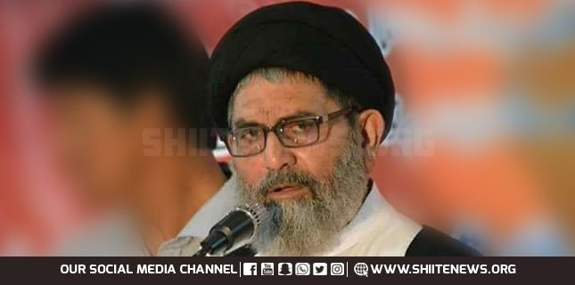Dictatorships were supported in personal interests, Allama Sajid Naqvi