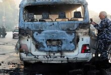 At least 13 killed in Damascus bus blast