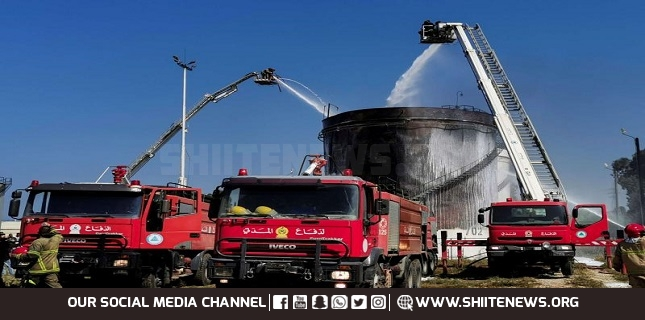 Firefighters put out fire at Lebanon Zahrani oil facility