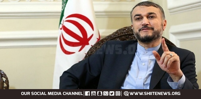 Iranian FM Iran will back Lebanese nation, army, resistance with strong voice