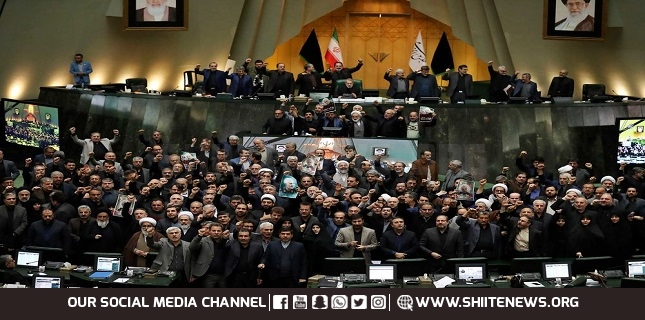 Iranian lawmakers fully support Army's show of force against Israel