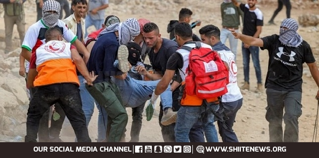 Israeli forces injure dozens of Palestinians after attacking anti-settlement rallies in Nablus