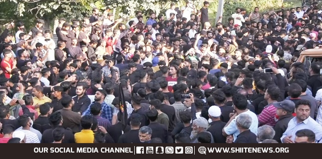 Kashmir mourns passing anniversary of Holy Prophet