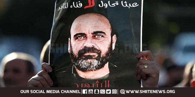 Palestinian Martyr Nizar Banat's Family Hails Sayyed Nasrallah for His Support