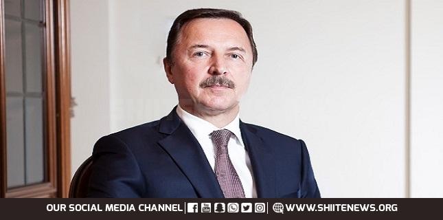 Russian Ambassador to Syria Aleksandr Yefimov