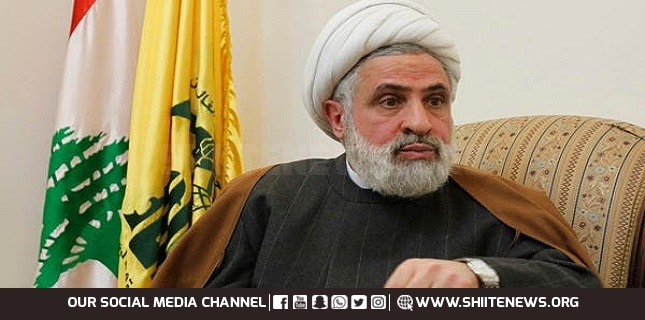 Sheikh Qassem Hezbollah Has the Right to Use All Means to Break US Siege on Lebanon