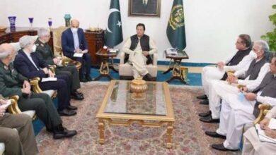PM Imran Khan meets with Iranian COGS Major General Muhammad Baqiri