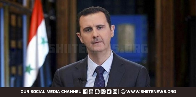 US withdrawal from Afghanistan shows collapse of West: President Assad