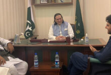 A delegation of MWM headed by Nasir Shirazi meets with Governor GB