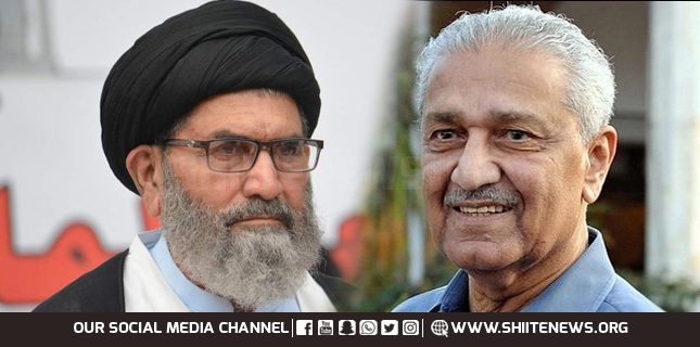 The credit of making Pakistan, an Islamic Atomic State goes to Dr. Abdul Qadeer, Allam Sajid Naqvi