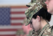 The US military tolerates sexual harassment