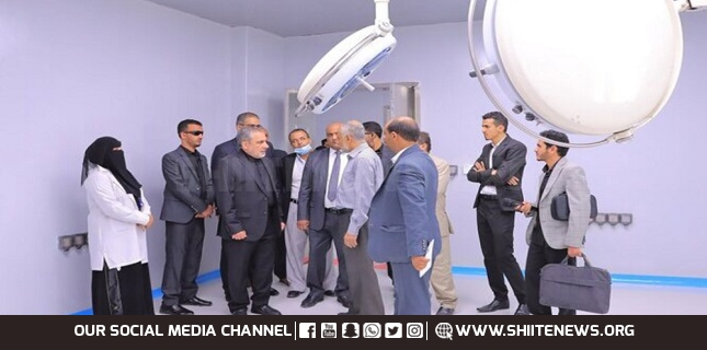 Iran helps restore Yemen hospital's emergency ward after 25 years