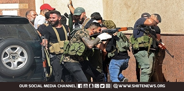 Lebanese Forces Party, behind the Beirut shooting Hezbollah