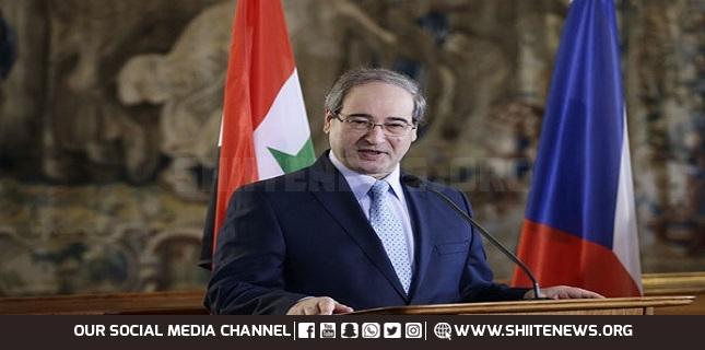 Syrian Foreign Minister Faisal Mikdad s